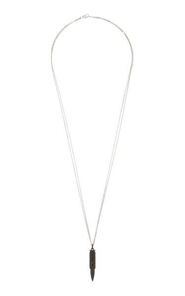 Titanium Diamond Necklace