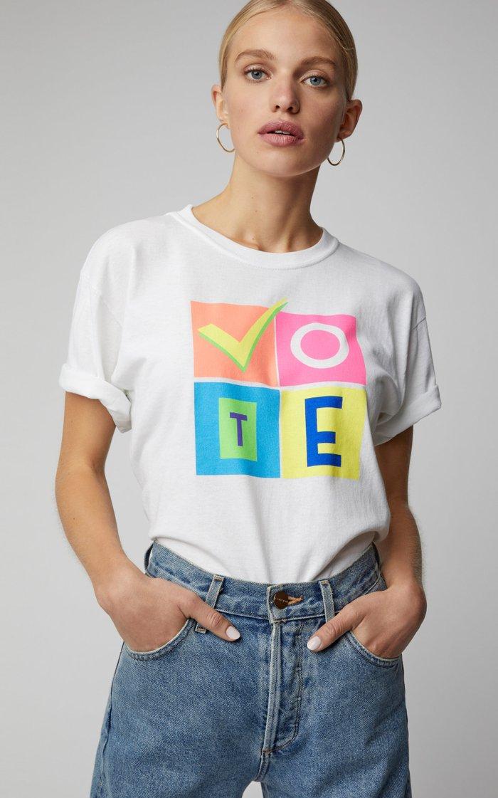 M'O Exclusive x Prabal Gurung Rock The Vote Tee