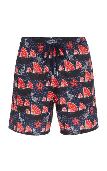 Mahina Hong Kong Printed Swim Shorts