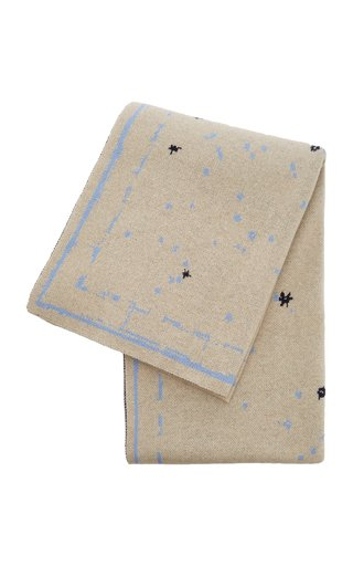 Constellation Printed Cashmere Rug