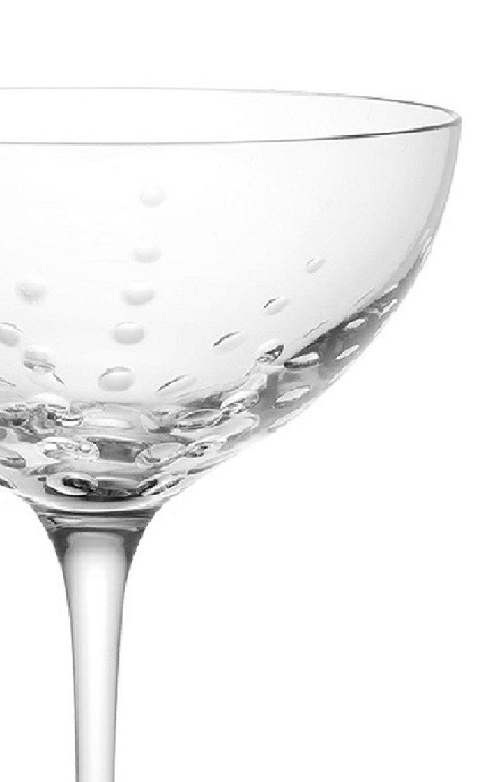 Mouthblown Bubble Champagne Saucer
