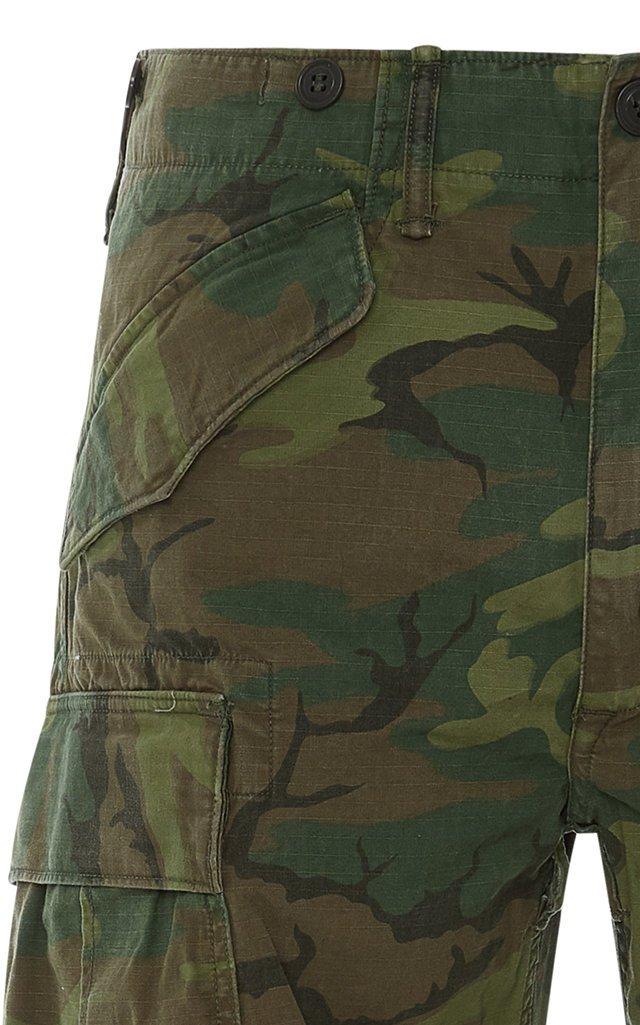 Surplus Cotton-Ripstop Straight-Leg Pants