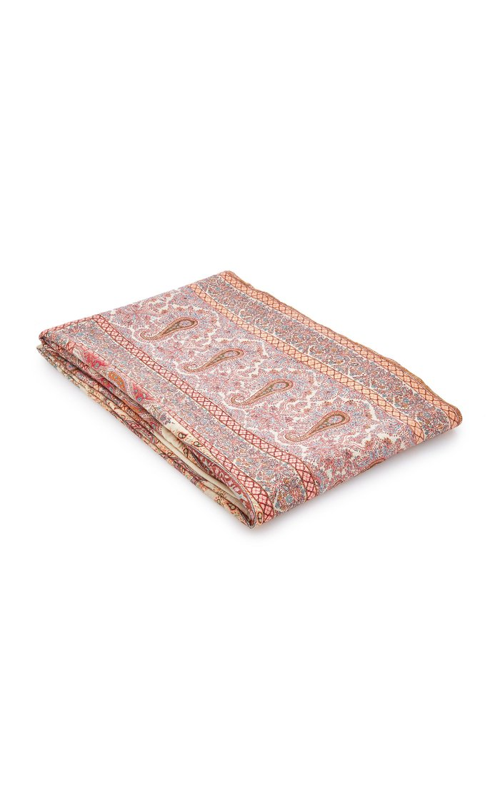Exclusive Embroidered Cashmere Shawl