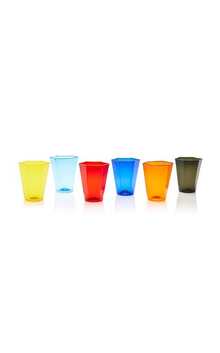 Set-Of-Six Glass Tumblers