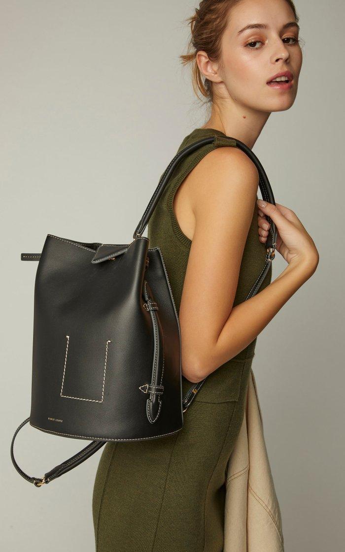 Jamie Leather Backpack