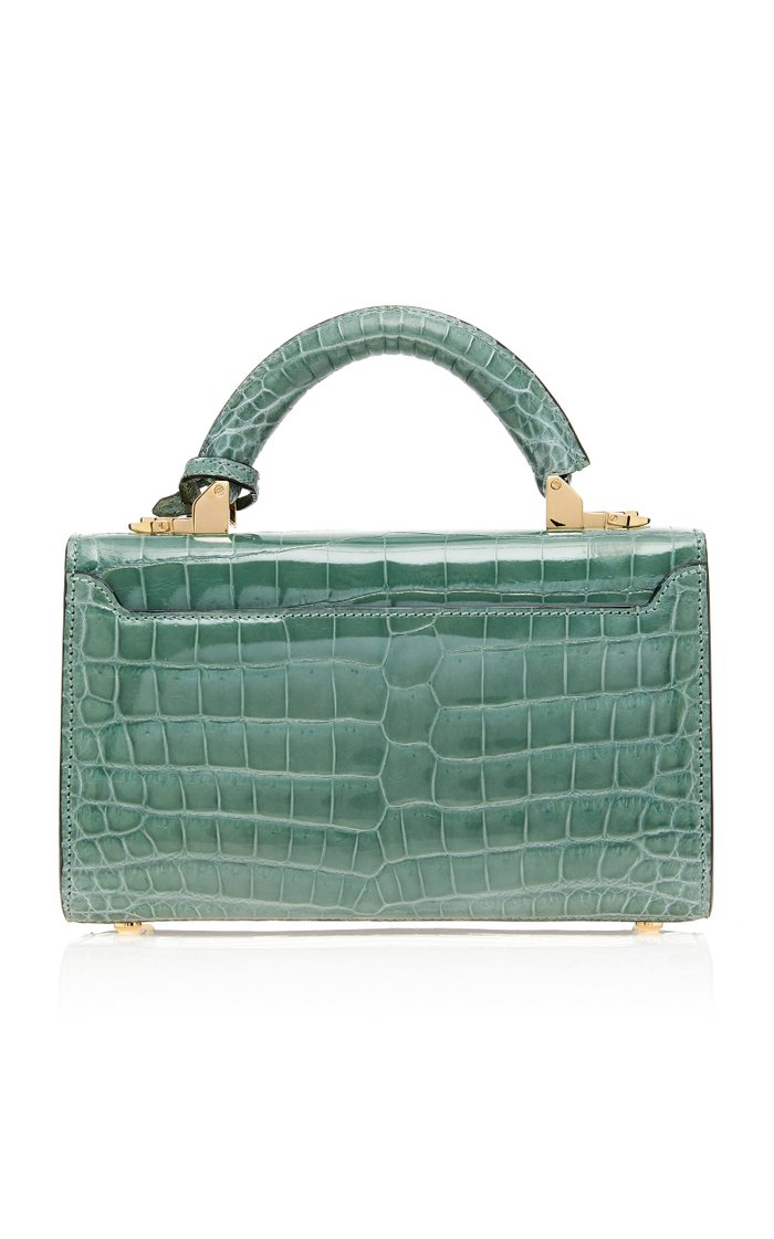 Top Handle 2.0 Alligator Shoulder Bag