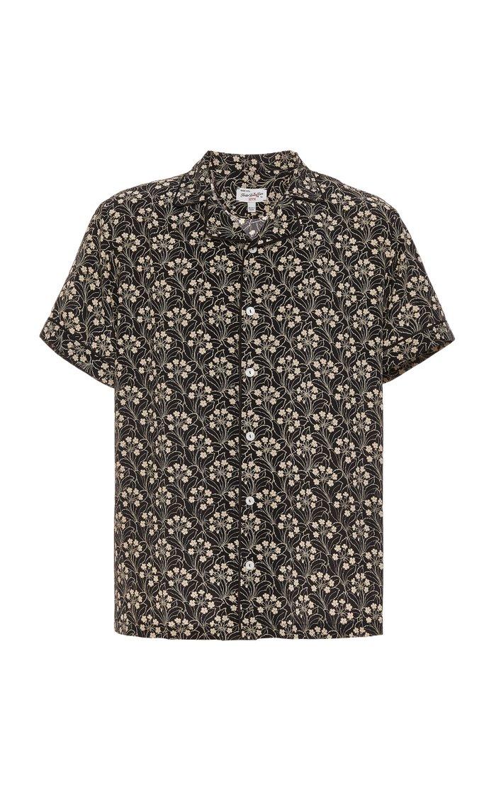 Exclusive Printed Silk Shirt