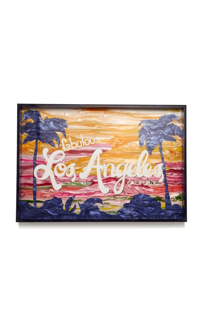 Los Angeles Extra Large Acrylic Tray