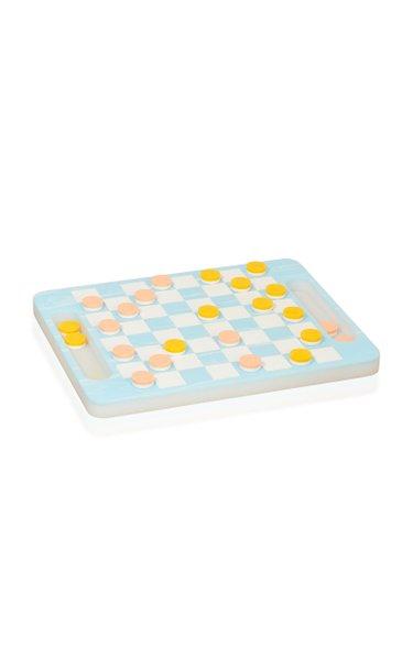 Acrylic Checkers Set