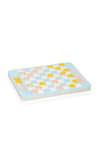 Acrylic Checkers Set