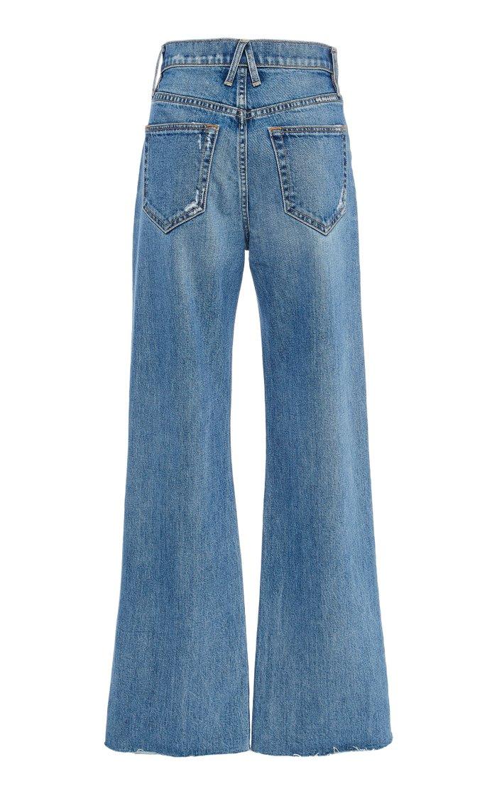 Grace High-Rise Wide-Leg Jeans