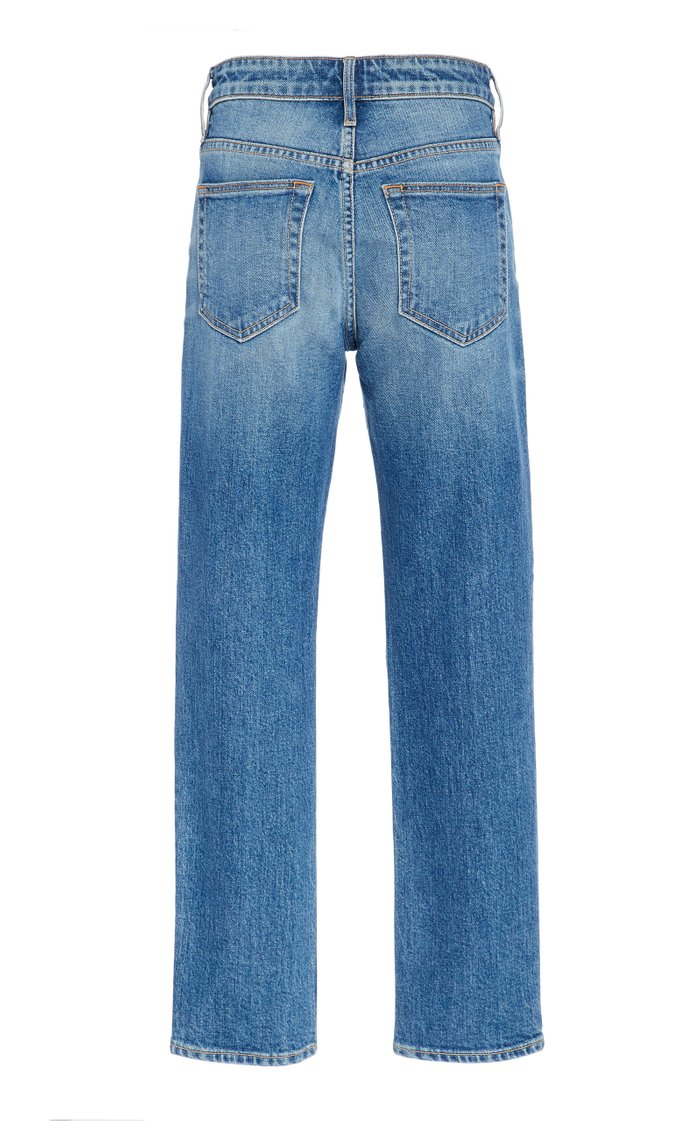 Lou Lou Mid-Rise Slim-Leg Jeans