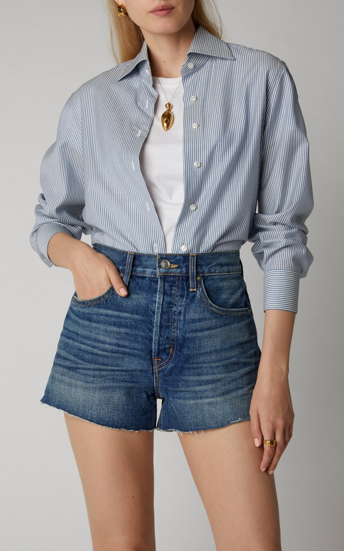 Farrah Denim Mini Shorts