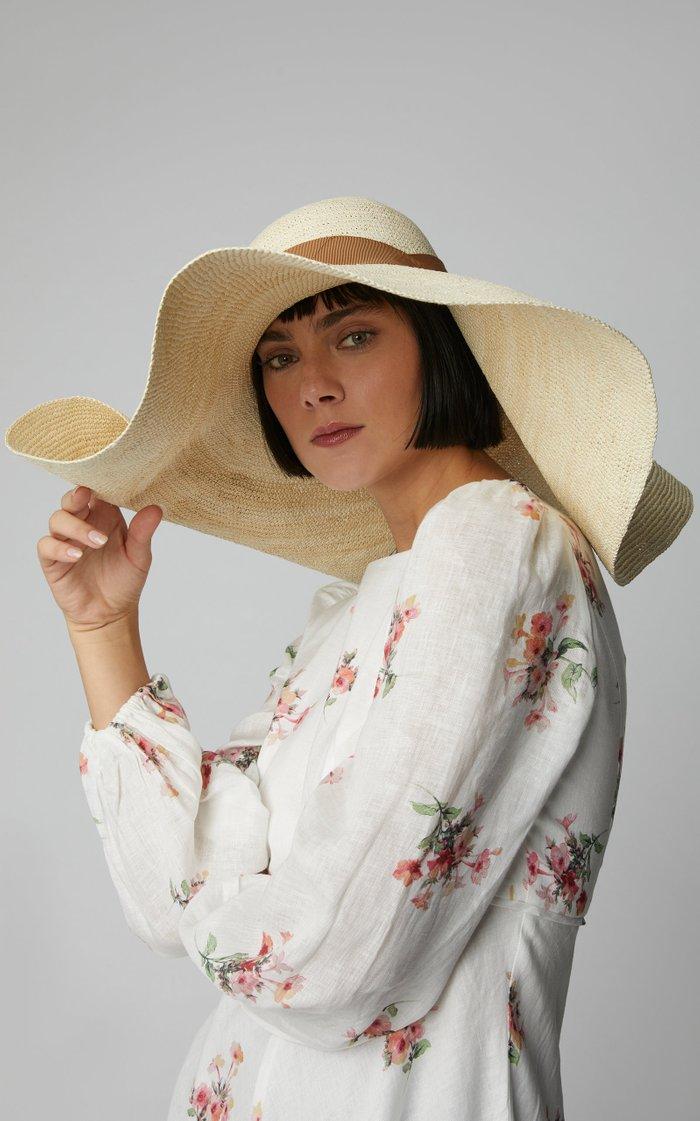 Wide Brim Straw Hat