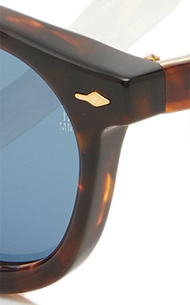 Felix Round-Frame Acetate Sunglasses