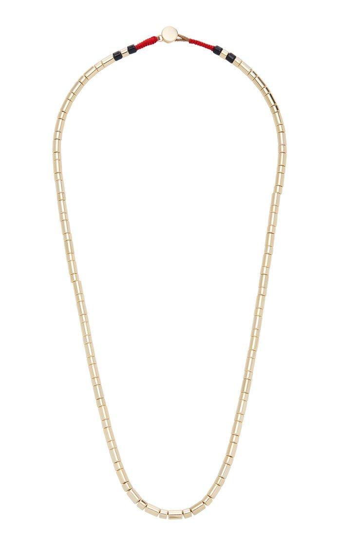 Peacoat Beaded Necklace