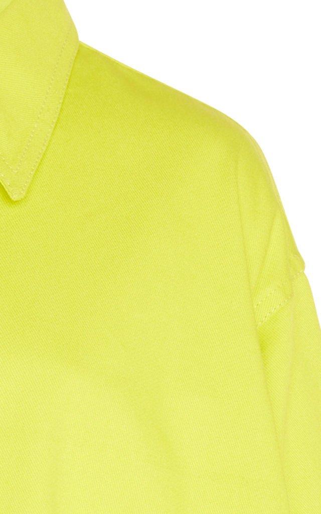 Oversized Cotton-Poplin Top