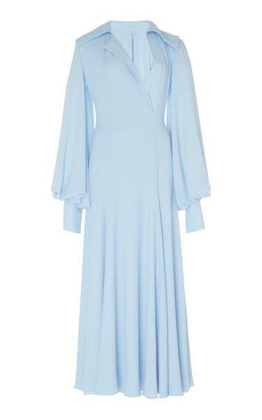 Gaynor Stretch-Cady Midi Dress
