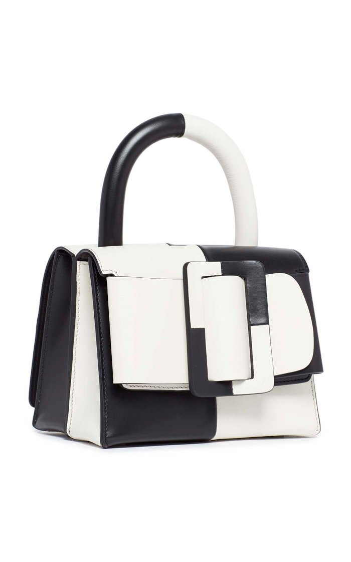 Lucas 19 Two-Tone Leather Bag