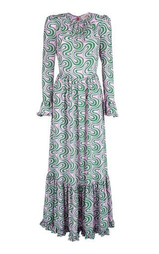 Summer Visconti Silk Maxi Dress