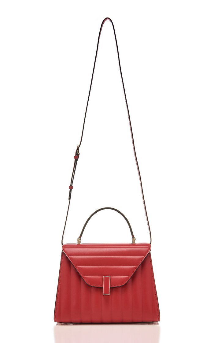 Iside Medium Quilted Leather Bag