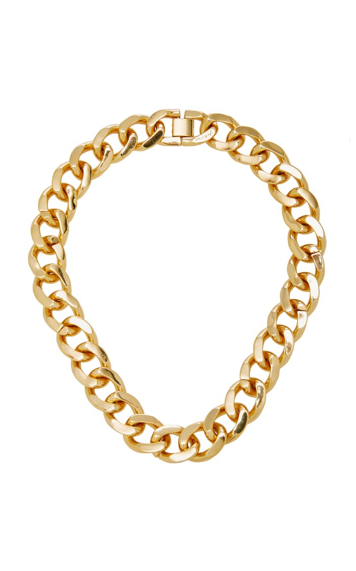 Armure Gold-Plated Necklace