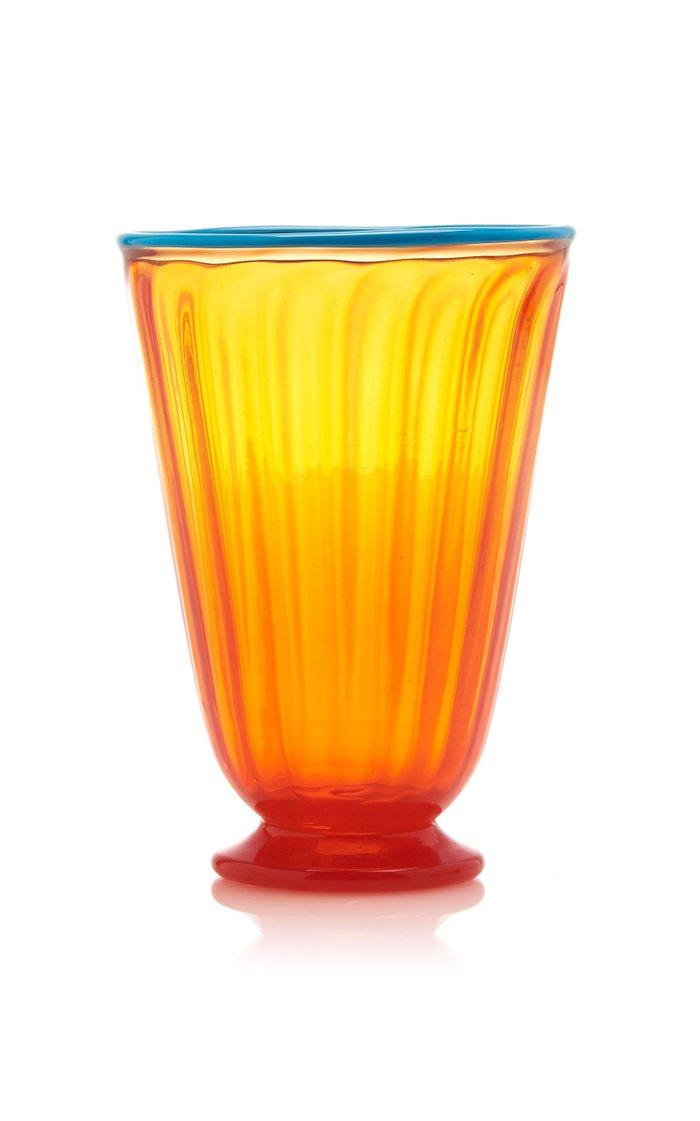 Set-of-Eight Assorted Rainbow Glasses