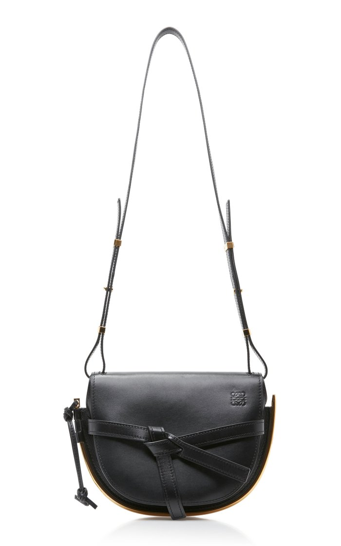 Gate Small Leather Frame Bag