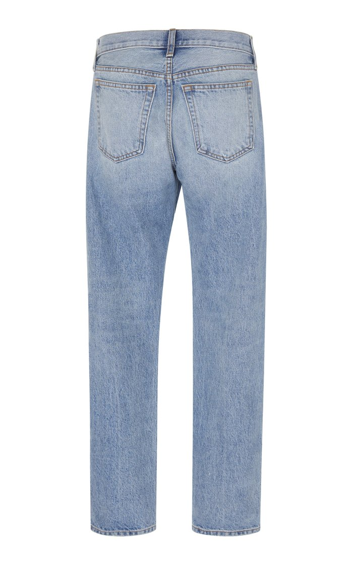 Kyle Relaxed Straight-Leg Jeans