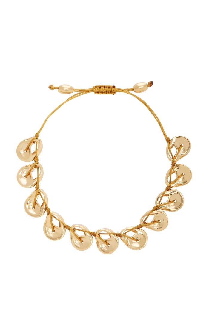 22K Gold-Plated Shell Bracelet
