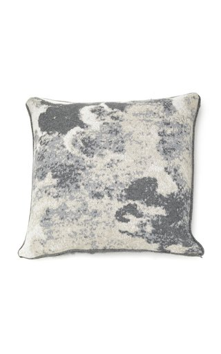 Clouds Intarsia Cashmere Pillow