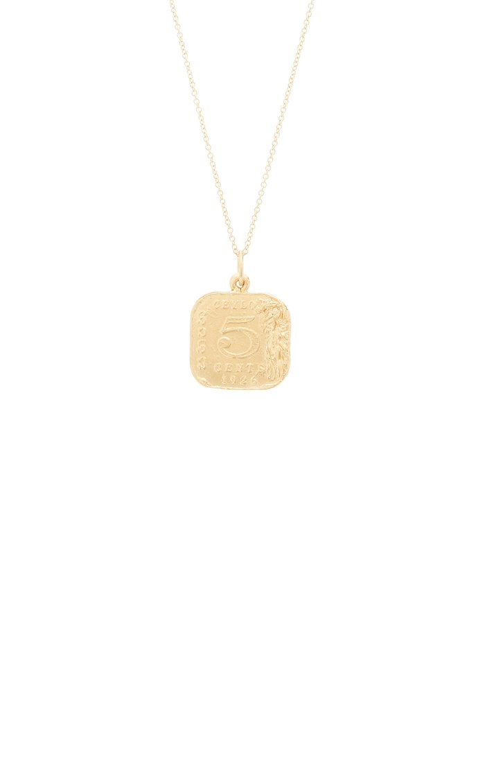 Infernal Storm 24K Gold-Plated Pendant
