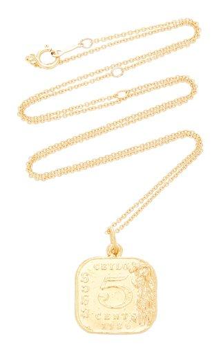 Infernal Storm 24K Gold-Plated Pendant