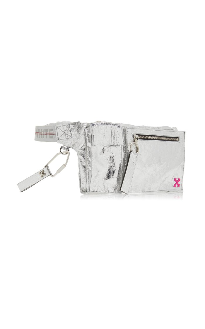 Froisse' Sporty Laminated Leather Fanny Pack