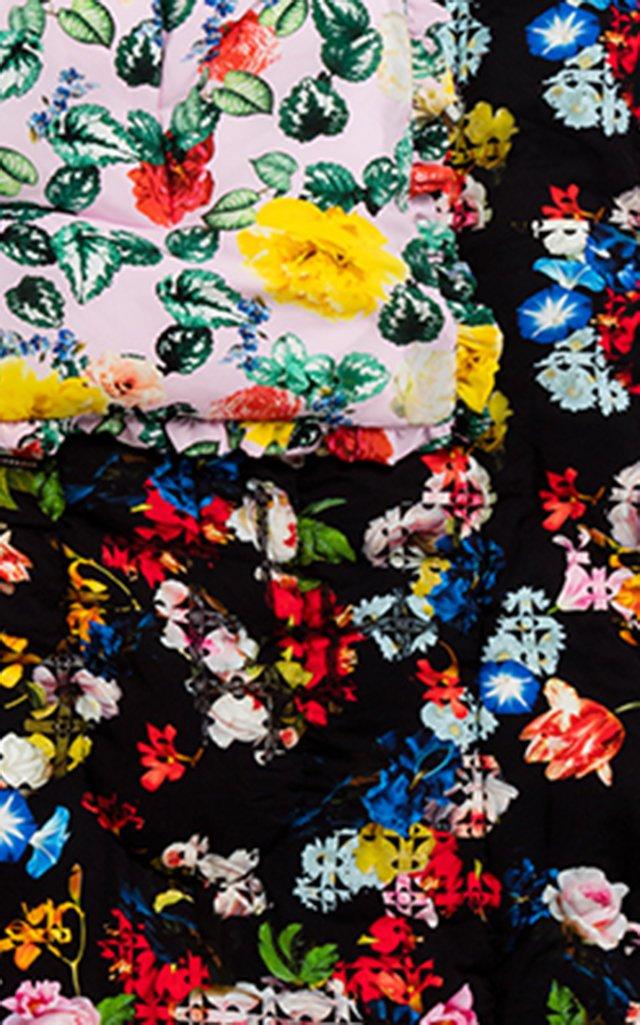 Quilted Silk-Satin Eiderdown Comforter