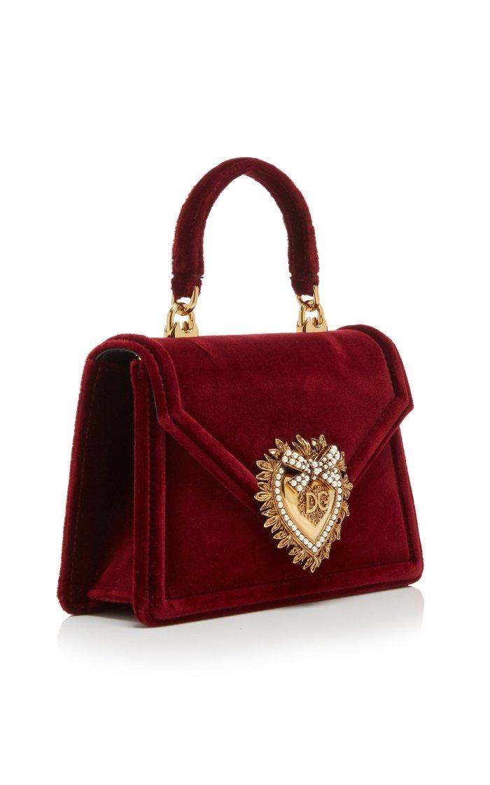 Borsaspalla Velvet Handbag