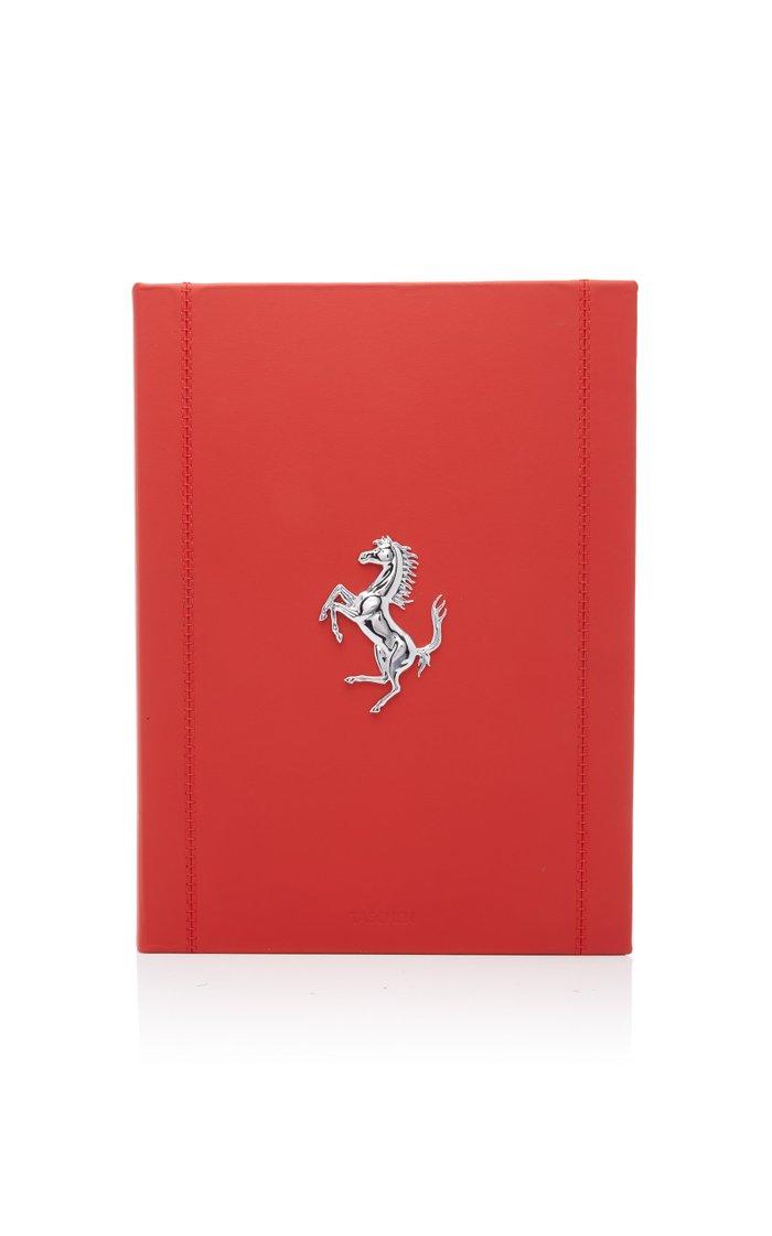 Ferrari Leather-Bound Book