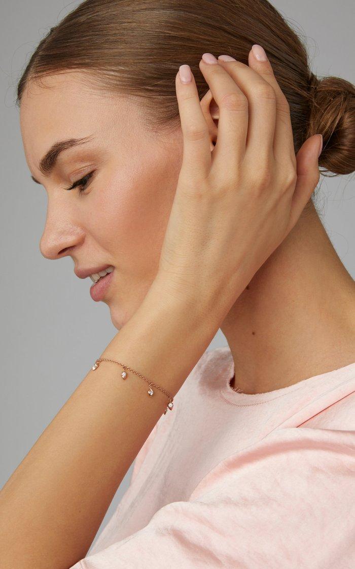 Lily 14K Gold Diamond Bracelet