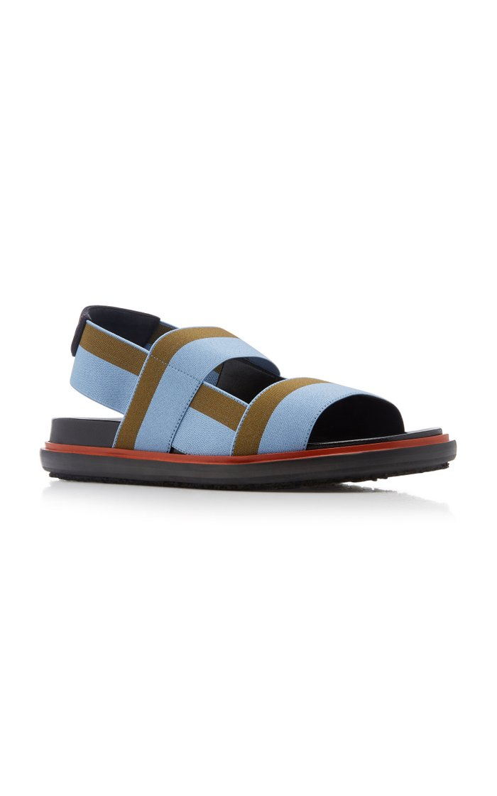 Fussbett Color-Block Slingback Sandals