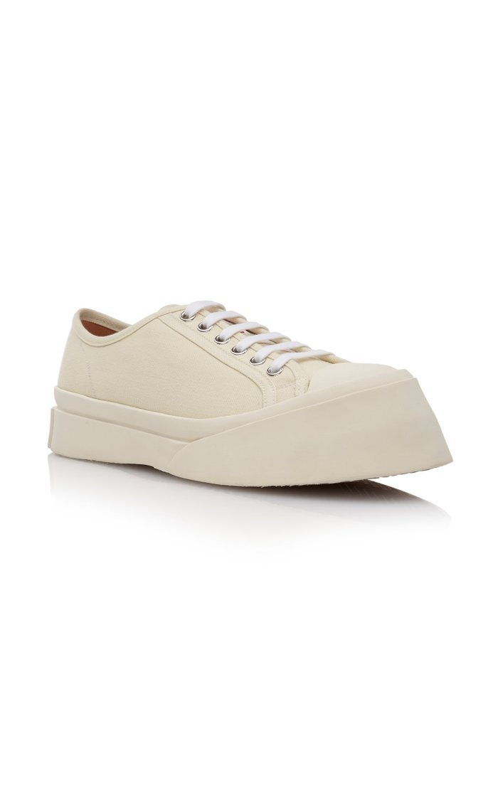 Platform Canvas Sneakers