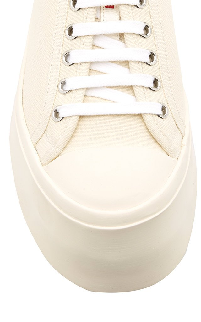 Platform Canvas Sneakers