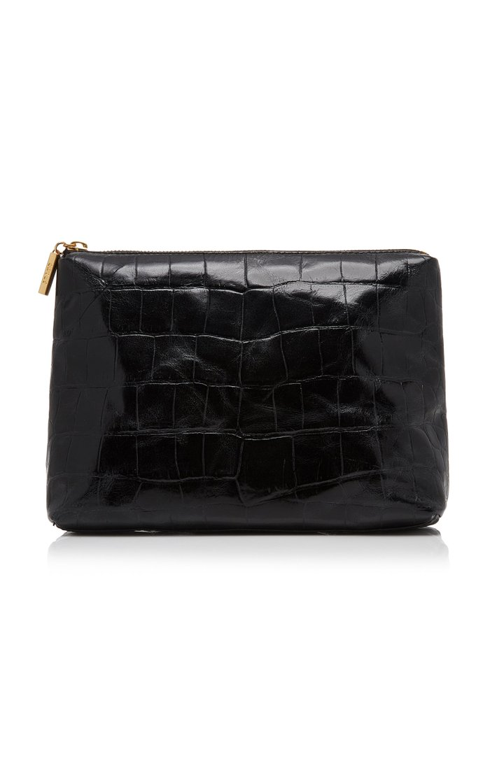 Shirley Croc-Effect Leather Bag