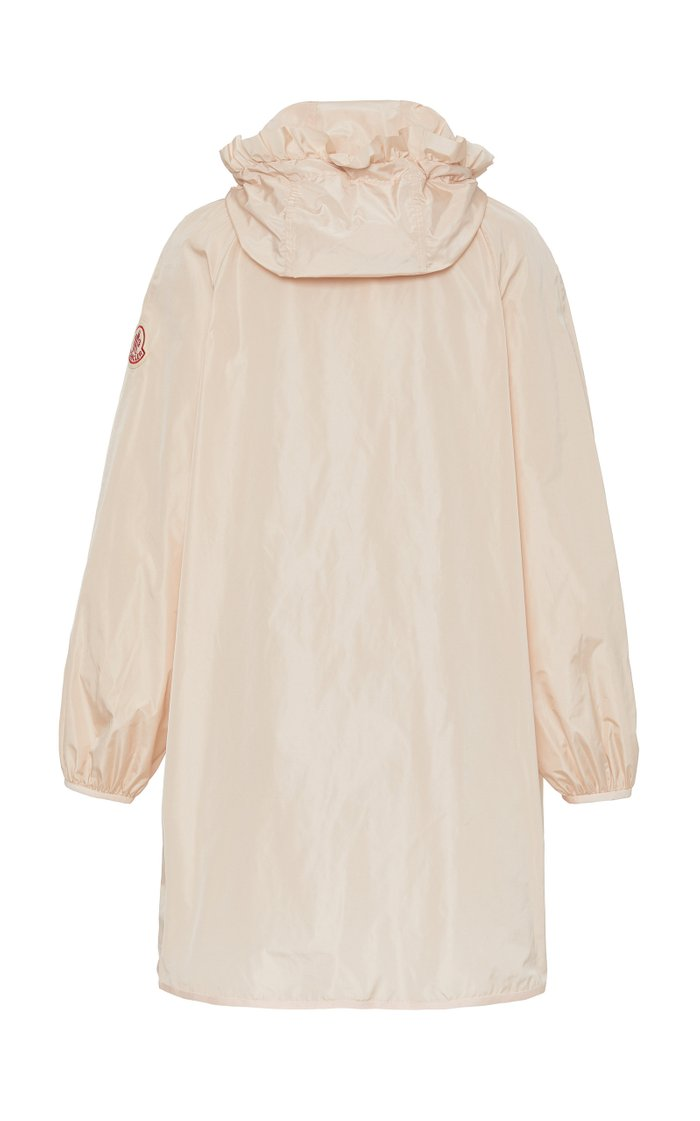 + Simone Rocha Geranium Ruffled Shell Hooded Jacket