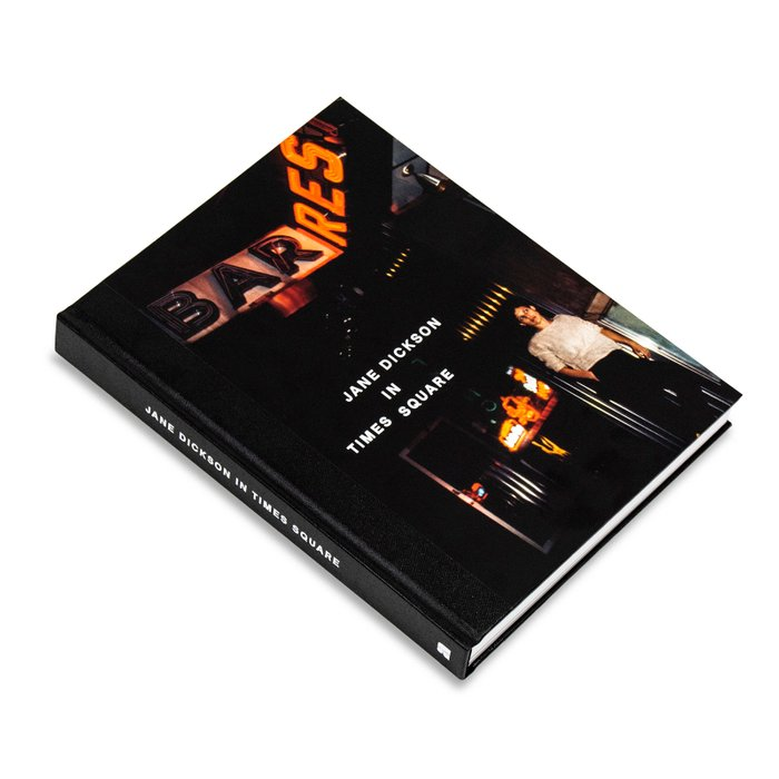 Jane Dickson in Times Square Hardcover Book