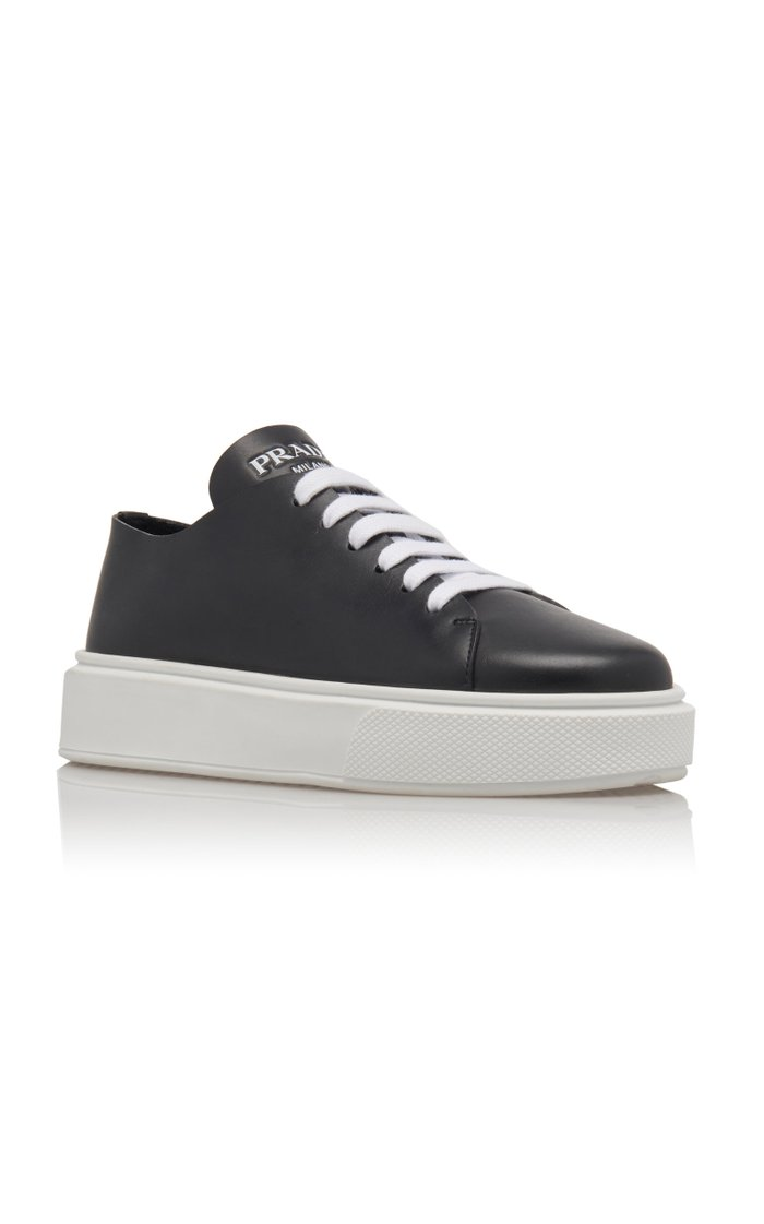 Minimal Leather Trainers
