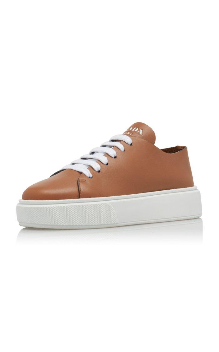 Minimal Leather Trainers