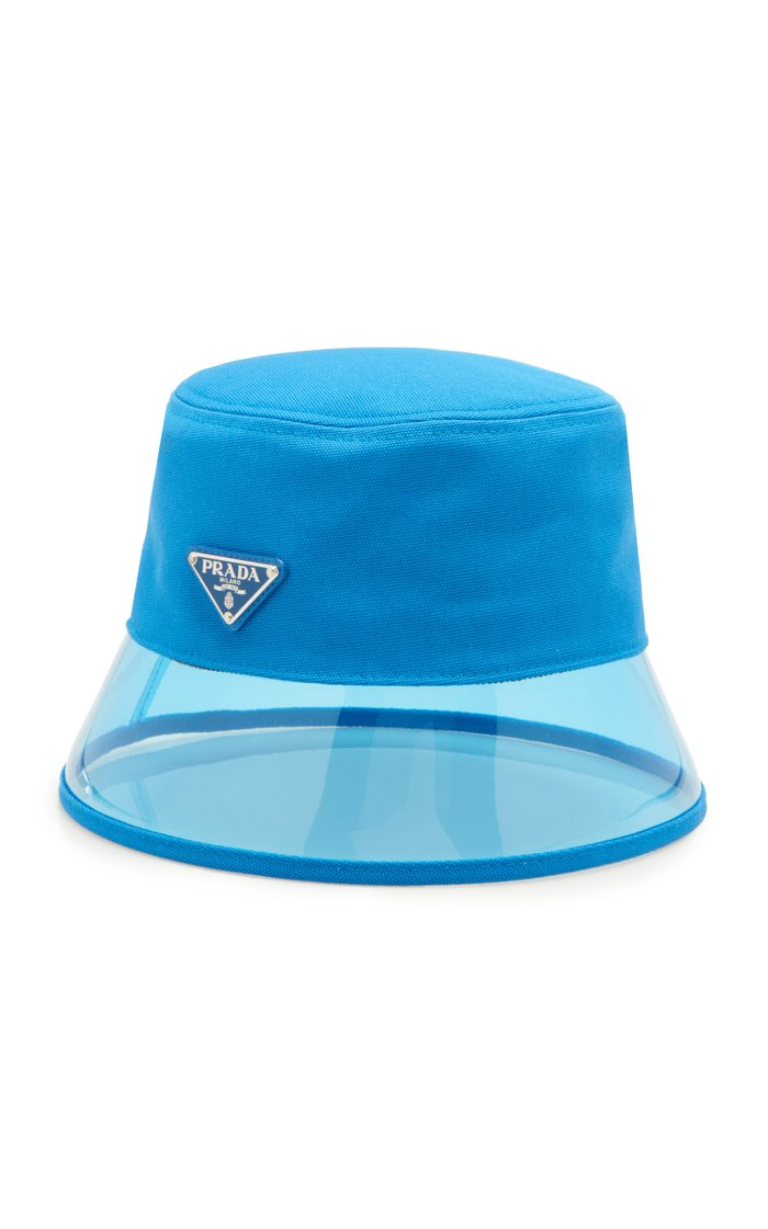 PVC And Shell Bucket Hat