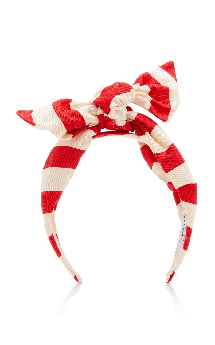 Exclusive Berthe Printed Cotton Headband