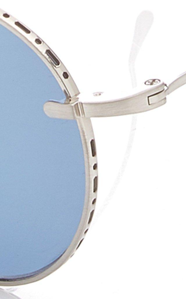 Rei 49 Aviator-Style Titanium Sunglasses
