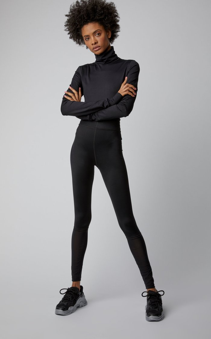Exclusive The Jerboa Jersey And Mesh Leggings